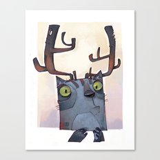 What?! Canvas Print