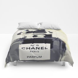 Black and White Coco Comforters