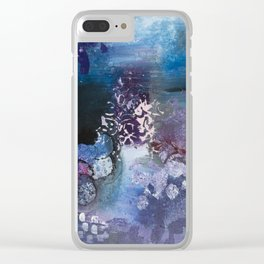 Somewhere To Be Clear iPhone Case