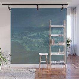 Soft Blue Moon Wall Mural