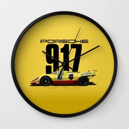 Lennep Piper 1970 Le Mans - 917K Chassis 917-021 Wall Clock