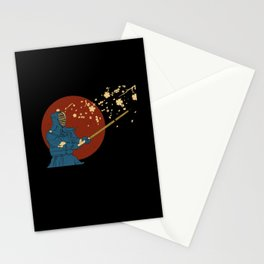 Kendo Martial Arts Stationery Cards