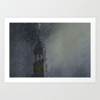 The Bear atop St. Michaelis Art Print