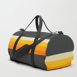 Hideharu - Classic 90s Retro Stripes Duffle Bag