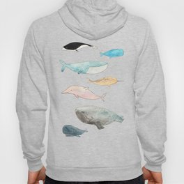 Group of whales Hoody