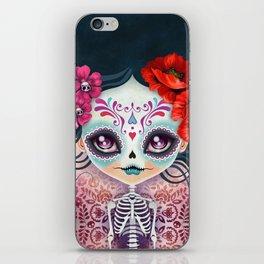 Amelia Calavera - Sugar Skull iPhone Skin