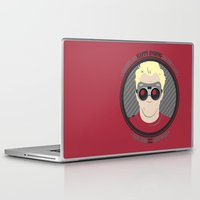 neil gaiman Laptop & iPad Skins featuring [ Doctor Horrible ] Dr. Sing-Along Blog Neil Patrick Harris by Vyles