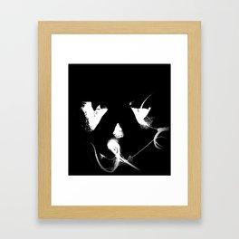Jacko Ghost Framed Art Print