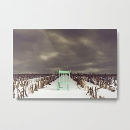 The Chair That Landed in Oz Metal Print