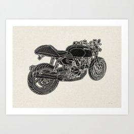 GT1000 Motorcycle Art Print