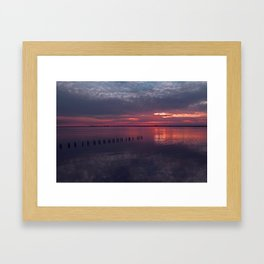 Transcend All Boundaries (Caloosahatchee River) Framed Art Print