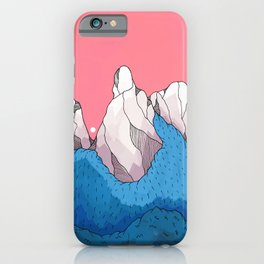 Mount forestmore iPhone Case
