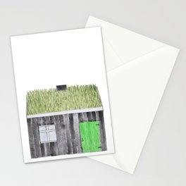 Traditional Faroese House Stationery Cards