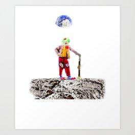 Moon Buffoon  Art Print