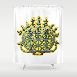 East Wind, East Sun Shower Curtain