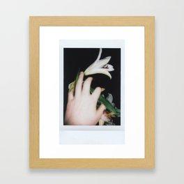 Fujifilm Flower Framed Art Print