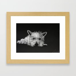 Lily Pooh Framed Art Print