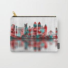 Mumbai India Skyline Carry-All Pouch