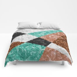 Marble Geometric Background G434 Comforters