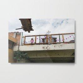 Xochimilco Metal Print