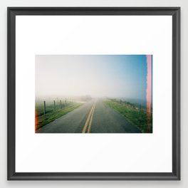 Road to Point Reyes  Framed Art Print
