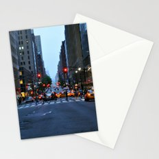 Nightfall in New York Stationery Cards
