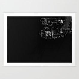 Camber Docks Art Print