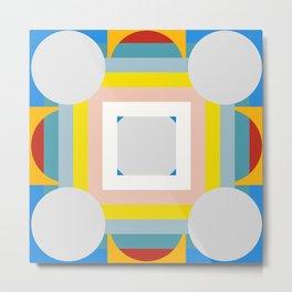 Abstract Geometric Artwork Metal Print