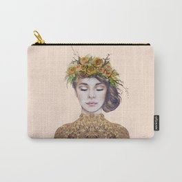 Rose Gold Lady Carry-All Pouch