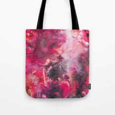 Pour Ultraviolet Pink Tote Bag