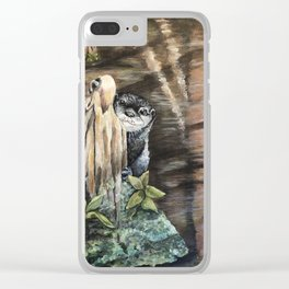 Francis Clear iPhone Case