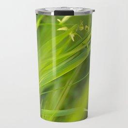 Shallow Blades of Grass Travel Mug