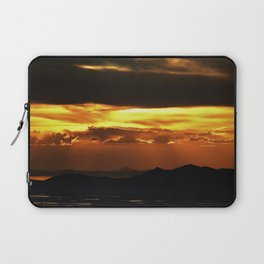 Great Salt Lake Sunset Laptop Sleeve
