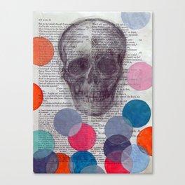 Enter Ghost Canvas Print