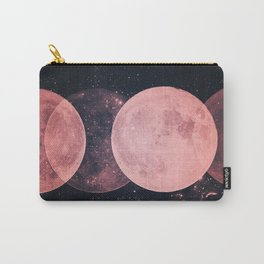 Pink Moon Phases Carry-All Pouch