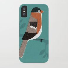 Raitán (Asturian Robin) iPhone X Slim Case
