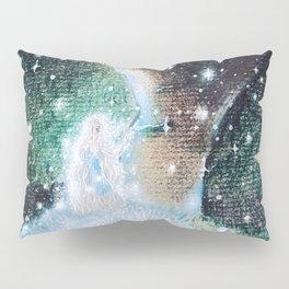 Mysterious Girl Pillow Sham