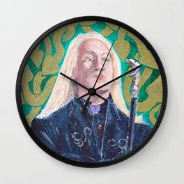 Lucius Malfoy Wall Clock