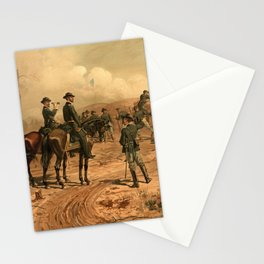 Civil War Siege of Atlanta by Thure de Thulstrup (1888) Stationery Cards