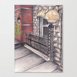"""""""Cheers"""" bar  Canvas Print"""