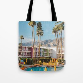 Palm Springs Saguaro Tote Bag
