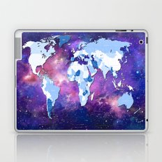 world map political galaxy 2 Laptop & iPad Skin