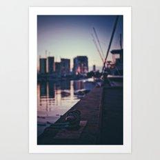 The Harbor Art Print