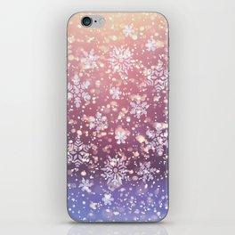 Snowfall iPhone Skin
