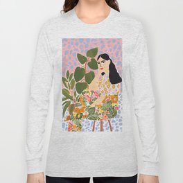 Botanical Lady Long Sleeve T-shirt