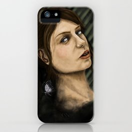 quiet iPhone Case