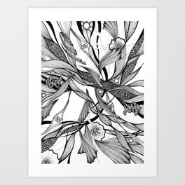 love tree Art Print