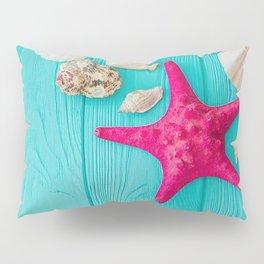 Starfish And Shells Pillow Sham