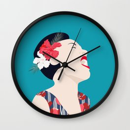 Billie Holiday Wall Clock