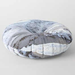 Mountain View Floor Pillow